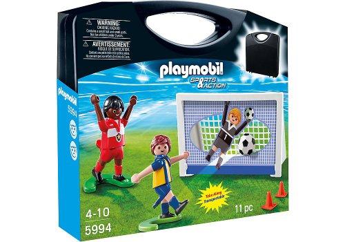 Action-figur-tragetasche (Playmobil 5994Sport und Action Fußball Tragetasche, Fußballtor)