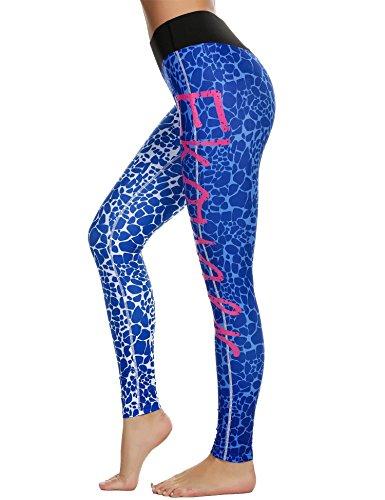Coorun Pantalón Deportivo de Mujer, Malla para Running, Yoga y Ejercicio