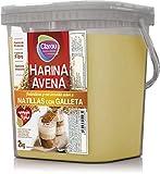 Clarou - Harina de avena - 2kg - Natillas y galleta