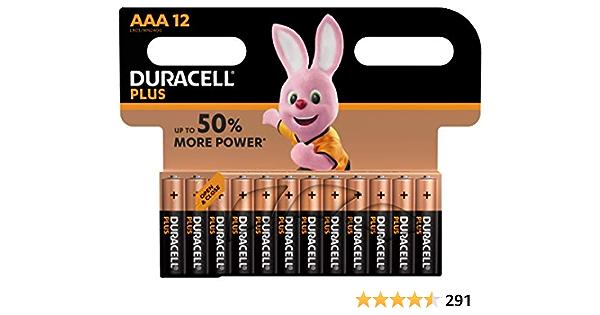 Duracell 15071702 Akku Alkaline Aaa Plus 12pk 12 Elektronik