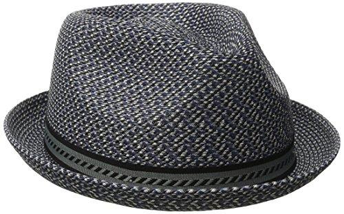 Bailey Herren Trilby Mannes, Blau (Navy Multi), L Snap Brim Hut