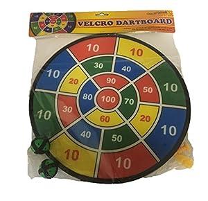 Fun Toys 10093-Diana 37cm con Banda De Velcro, Dart Parte Velcro Disco, Pelotas, Flechas