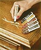 WENKO 5640610500 Möbelstift  - 6 verschiedene Farben, 6-teilig, Chemie, 1.5 x 9.7 x 1.5 cm, Weiß
