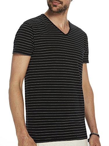 Scotch & Soda Herren Basic V-sneck T-Shirt, Mehrfarbig (Combo D 0220), Small (Baumwoll-spandex-v-neck T-shirt)