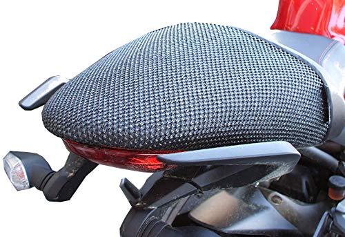 Triboseat Coprisella Passeggero Antiscivolo Nero Compatibile Con Ducati Monster 821 (2018-2019)