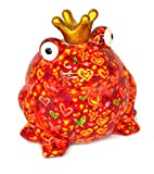 pomme-pidou XL-Frosch rot mit Herzen