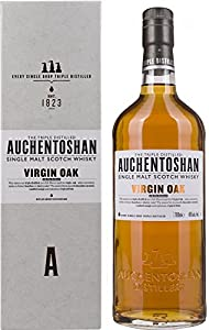 Auchentoshan Virgin Oak Limited Release Whisky with Gift Bag, 700 ml by Auchentoshan