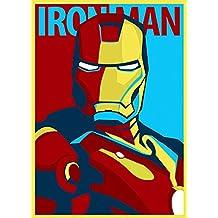 Iron Man imagenation 'Pop Art Póster de profesional 260G/m² Seda Arte Fotográfico Impresión–sin marco, A3 - 297mm X 420mm