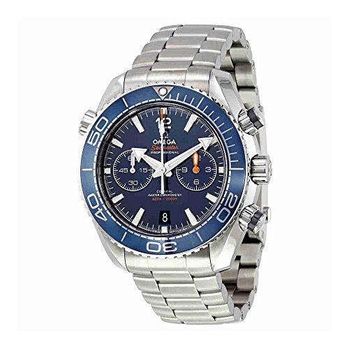 Omega Seamaster Planet Ocean Chronograph Automatik Herren Armbanduhr 215.30.46.51.03.001