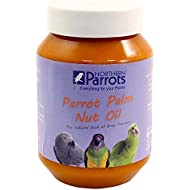 Parrot Palm Fruit Nut Oil - Nutritious Natural Treat for African Greys & other Parrots