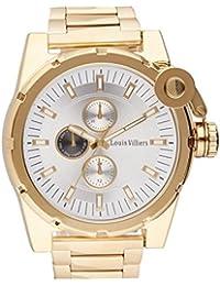 Reloj hombre Louis Villiers en acero blanco 50 mm lvag3733 – 17