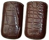 Original Suncase Tasche für / Doro Liberto® 650 / Leder