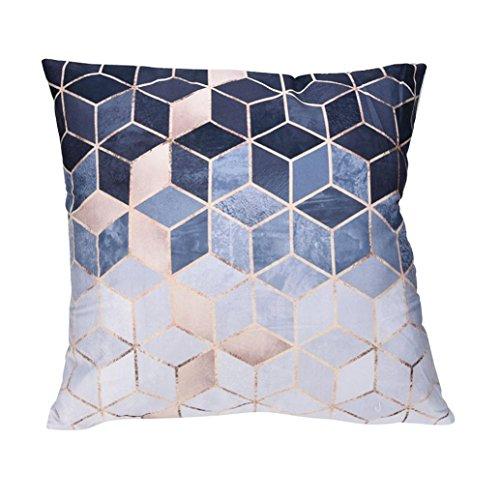 Kissenbezüge ZIYOU Zierkissen Polyester Sofa Bett Home Decor Fall Kissen Kissenbezug 45cm*45cm (A)
