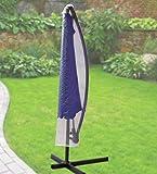 Fachhandel-Plus das Plus für Ihren Einkauf Komfort Schutzhülle für runde Ampelschirme mit einem Ø von 200-400cm,transparent