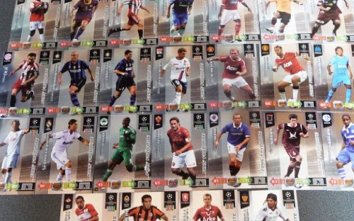 Adrenalyn XL Champions League 2010/11 - 25 card Fans Favourites Set [Toy]