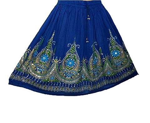 MINI Ladies Indian Boho Hippie Gypsy Sequin Summer Sundress Maxi