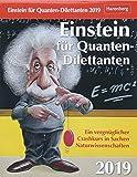 Einstein für Quanten-Dilettanten - Kalender 2019: Ein vergnüglicher Crashkurs in Sachen Naturwissenschaften - Daniel Lingenhöhl, Thomas Trösch