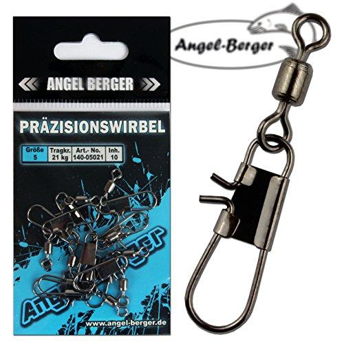 Angel Berger Präzisionswirbel mit Tragkraftgarantie Angelwirbel (7)