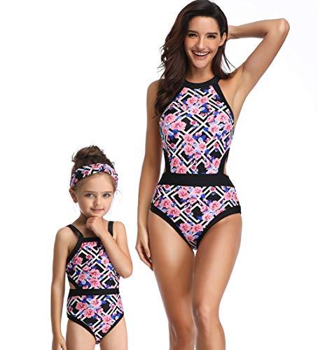 Happy cherry - Niñas Bañador Infantil una Piezas Bikini Traje de Baño...