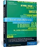 Excel-VBA-Referenz: Objekte, Eigenschaften, Methoden