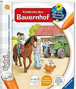 Ravensburger 00580 tiptoi - Libro con audio Descubrir la granja Importado de Alemania