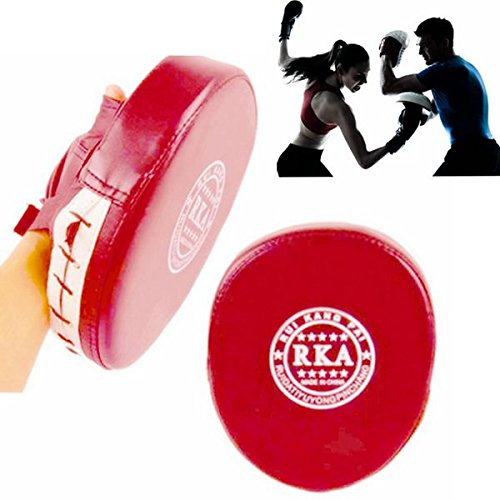 Boxtraining Mitt Ziel Fokus Schlagpolster Handschuh MMA Abbildung 2