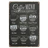 Best Kitchen Decors - Livecity Coffee Bar Menu Vintage Sign Pub Shop Review
