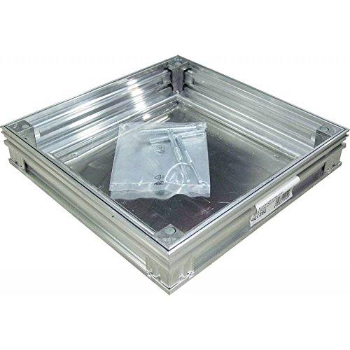 Alucover Light-Light Low - Aluminium-Fliesenabdeckung wasserdicht, geruchs- und staubdicht - ACO - 50 mm, 40x40 -