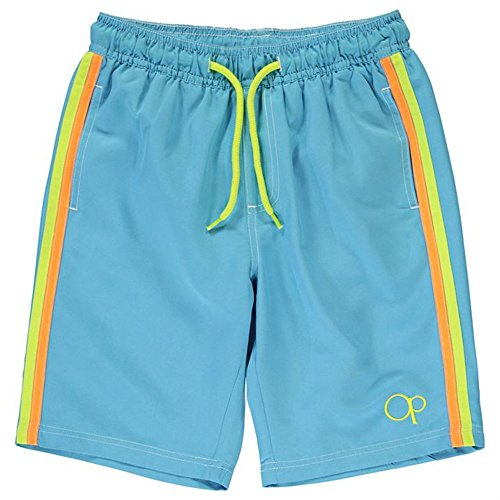 junior-boys-drawstring-plain-swim-shorts-11-12-yrs-turquoise