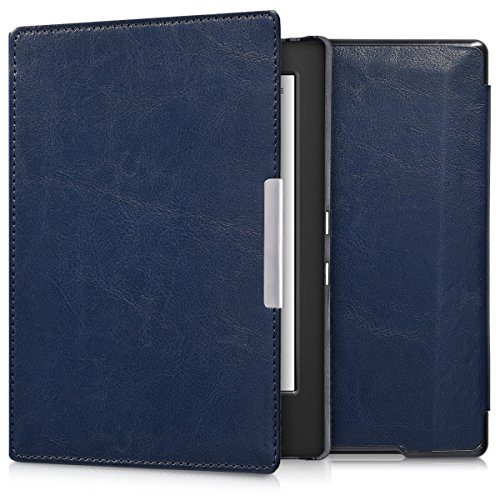 kwmobile Cover per Kobo Aura H2O Edition 1 - Custodia a Libro per eReader - Copertina Protettiva Flip Case - Protezione per e-Book Reader