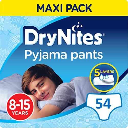 Huggies DryNites Boy hochabsorbierende Pyjamahosen Unterhosen 8-15 Jahre