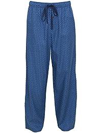 Cyberjammies 6089 Men s Charlie Navy Blue Geometric Print Cotton and Modal  Pant Pyjama Pajama PJ Bottom b63298426