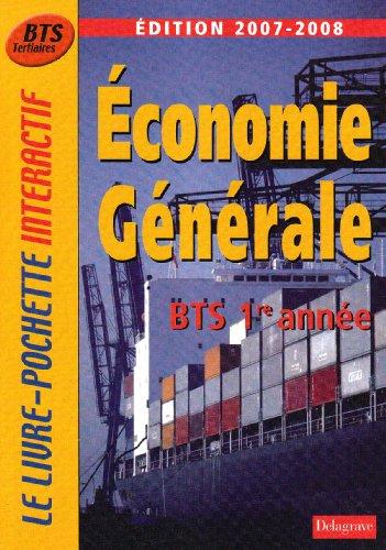 Economie générale BTS tertiaires 1e année