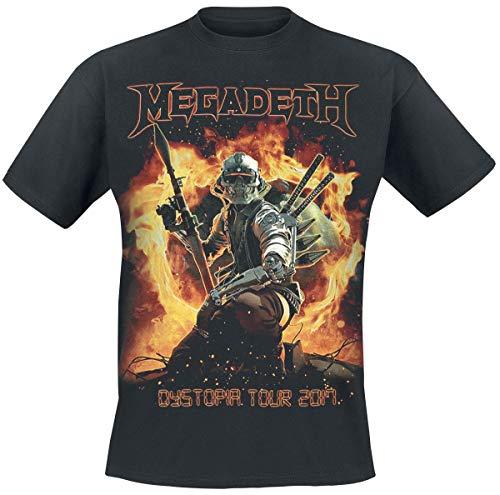 Megadeth RPG Camiseta Negro S