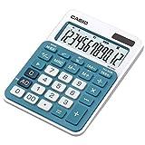 Casio MS-20NC-BU - Calculadora básica, color azul