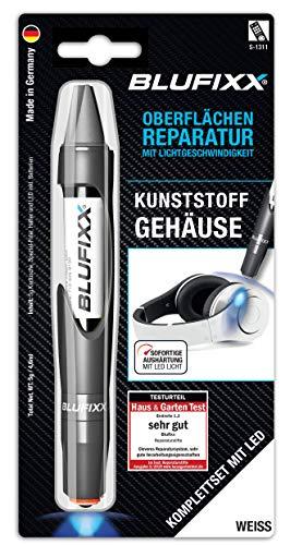 BLUFIXX Smart-Repair Spezial Set (Kunststoffgehäuse) PW WEISS DE