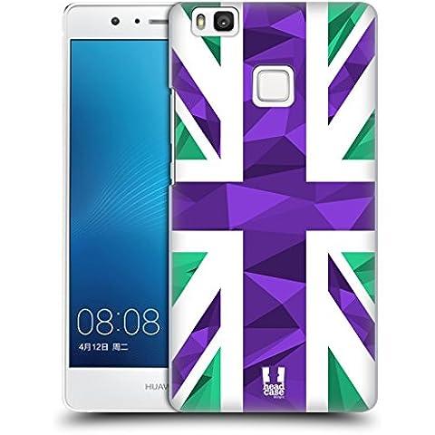 Head Case Designs Geometrico Collezione Union Jack Cover Retro Rigida per Huawei P9 lite / G9 Lite