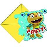Disney Henry Hugglemonster Party Invitations, Pack of 6