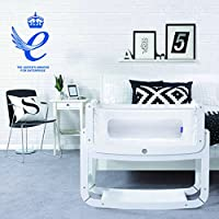 SnuzPod² Bedside Crib and Mattress