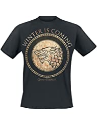 Game of Thrones - T-shirt Homme - Gold Stark Shield