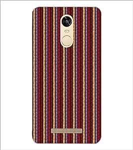 PrintDhaba Pattern D-6080 Back Case Cover for XIAOMI REDMI NOTE 3 (MEDIATEK) (Multi-Coloured)
