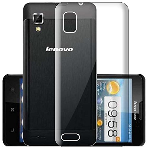 WTF Back Case, Lightweight,Shock Absorbing Transparent Soft Back Case Cover For Lenovo P780  available at amazon for Rs.197
