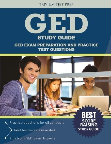 GED Study Guide: GED Exam Preparation and Practice Test Questions by GED Exam Prep Team (2016-09-12)