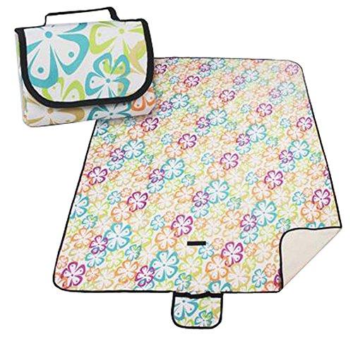 Plage Mat pique-nique Lawn humidité Mats Proof Colorful Flowers 150 * 200cm