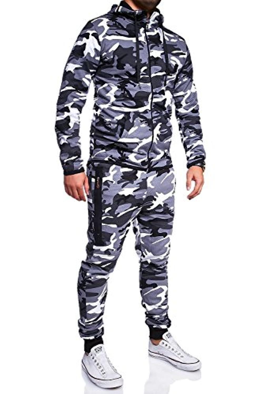 7484b580fd MT Styles ensemble pantalon de sport + sweat-Shirt jogging ...