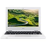 Acer Chromebook 11 CB3-131-C1CA NX.G85EG.001 29,5 cm (11,6 Zoll HD matt) (Intel Celeron N2840, 2GB RAM, 16GB eMMC, Intel HD Graphics, Google Chrome OS) weiß