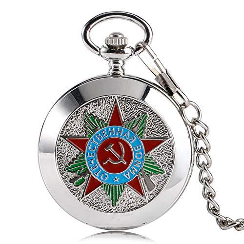 Reloj Bolsillo Lujo Insignia Comunismo Martillo soviético