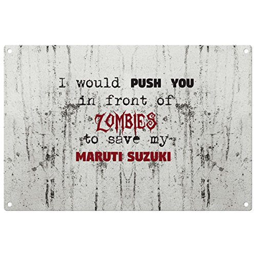 save-my-maruti-suzuki-from-the-zombies-vintage-decorative-wall-plaque-ready-to-hang