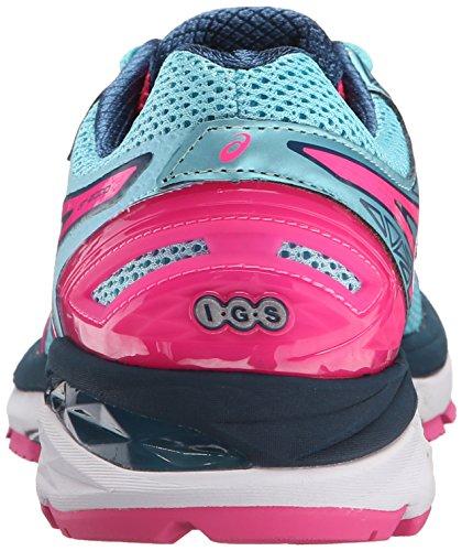 Asics GT-2000 2 Maschenweite Laufschuh Turquoise/Hot Pink/Navy