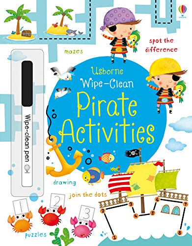 Wipe-Clean Pirate Activities (Wipe-Clean Activities)